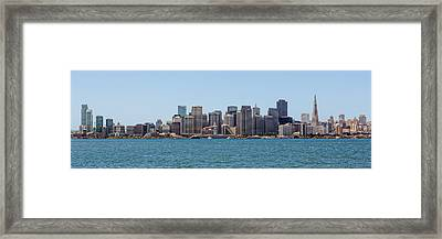 Bay View Framed Print by Kelley King