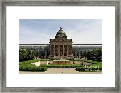 Bayerische Staatskanzlei Framed Print by Nichola Denny