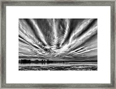 Bayfarm Island Sunrise Framed Print