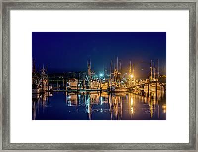 Bayfront Morning Framed Print