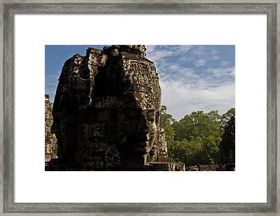 Bayon Temple, Siem Reap Framed Print