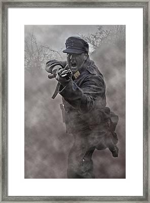 Bayonet Warrior Framed Print