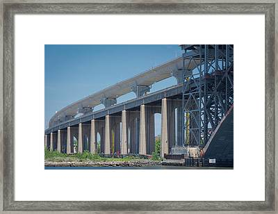 Bayonne Bridge Raising #5 Framed Print