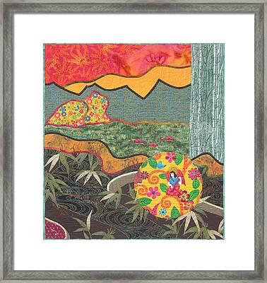 Bayou Bend Framed Print by Salli McQuaid
