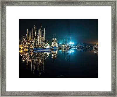 Bayou Nights Framed Print