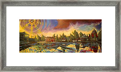 Framed Print featuring the painting Bayou St John New Orleans by Amzie Adams