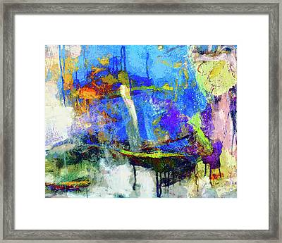 Framed Print featuring the painting Bayou Teche by Dominic Piperata