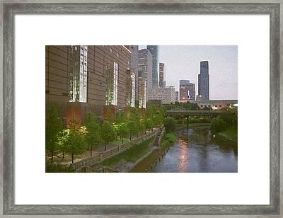 Bayou View Framed Print by Errol Allen