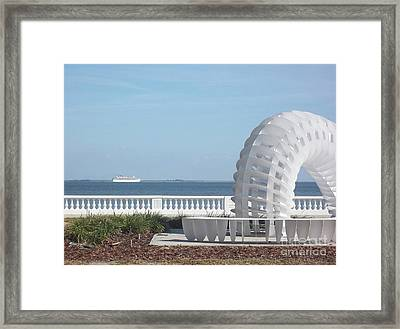 Bayshore Boulevard Sculpture Framed Print by Gail Kent