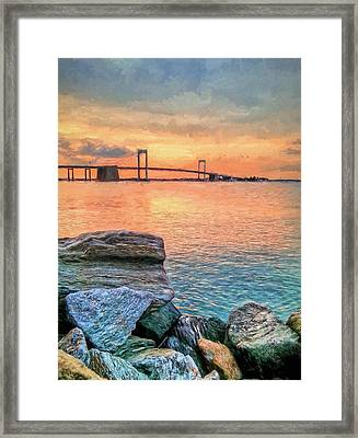 Bayside Queens Framed Print by JC Findley