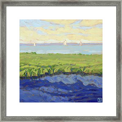 Bayside Framed Print by Tom Taneyhill