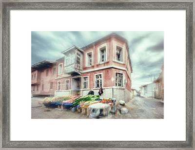 Bazaar Framed Print by Okan YILMAZ