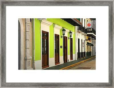 Bazar De Arte Framed Print