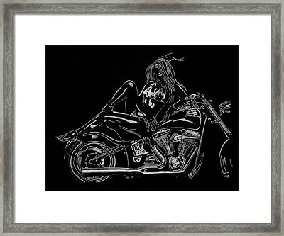 Bb Five Framed Print