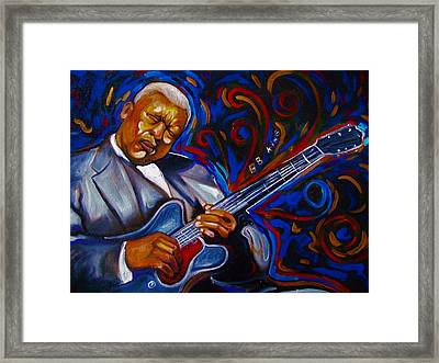b.b KING Framed Print