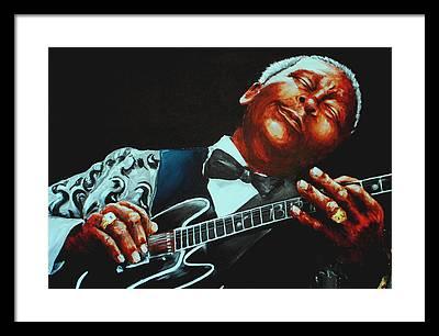 Rhythm And Blues Framed Prints
