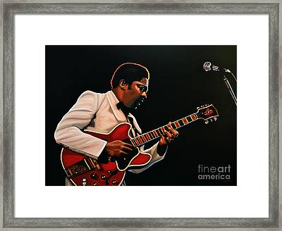 B. B. King Framed Print by Paul Meijering