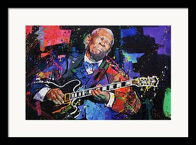 Live Music Paintings Framed Prints