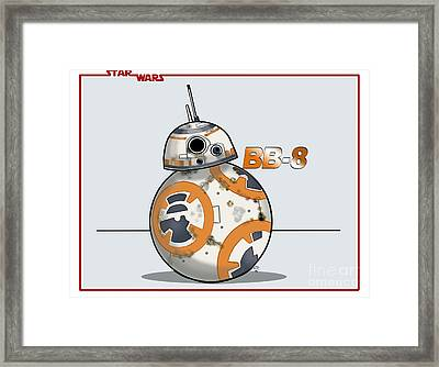 bb8 Framed Print by Chris DelVecchio