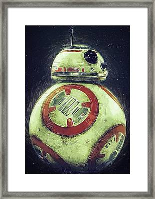 BB8 Framed Print by Semih Yurdabak