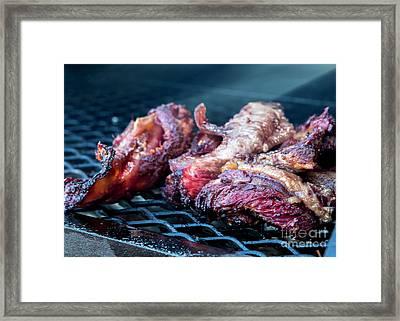 Bbq Beef 1 Framed Print