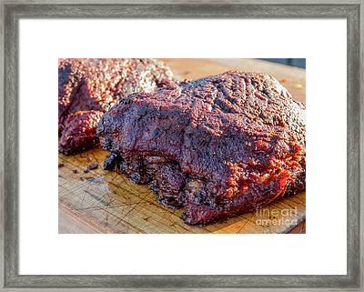 Bbq Beef 2 Framed Print