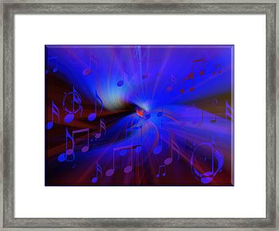 B.b's Blues Framed Print