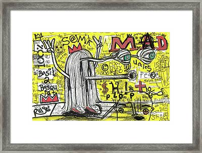 Bbs Tribute Framed Print by Robert Wolverton Jr