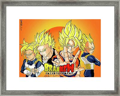 BBZ Framed Print by Tyquill Williams