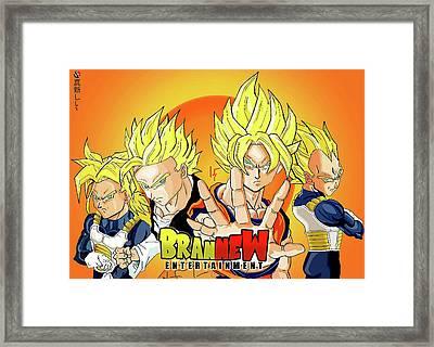 BBZ Framed Print