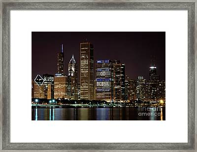 Bcbsil Framed Print by Andrea Silies