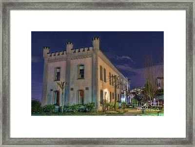 Framed Print featuring the mixed media B.c.penitentiary by Jim  Hatch