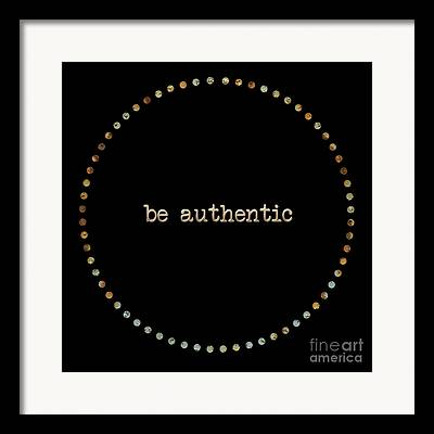 Authentic Framed Prints