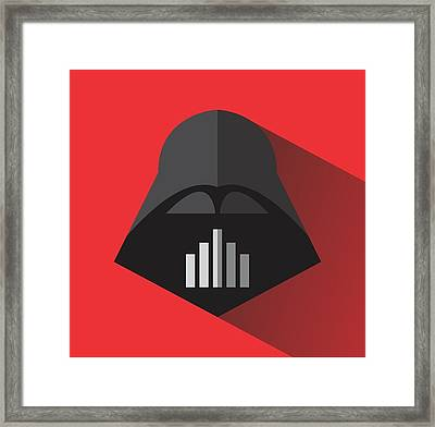 Be Darth Framed Print by Steve Sanburn