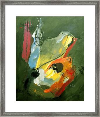 Be Faithful Framed Print by Ruth Palmer