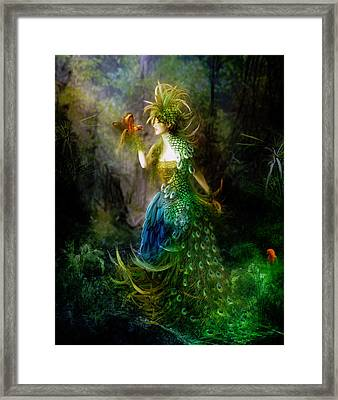 Be Free Little One Be Free Framed Print