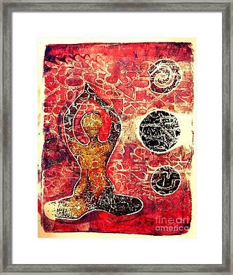 Be Grounded Framed Print