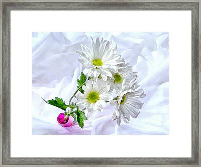 Be Happy Framed Print by Krissy Katsimbras