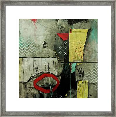 Be In Our Forest  Framed Print