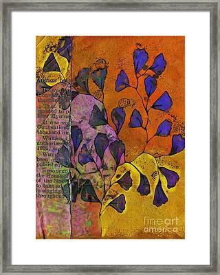 Be Leaf - 2220a Framed Print by Variance Collections