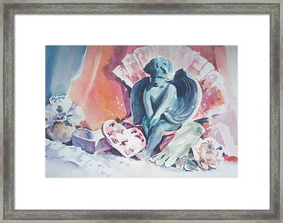 Be Mine Framed Print by Joan  Jones
