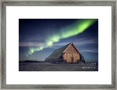 Be My Light Framed Print by Evelina Kremsdorf