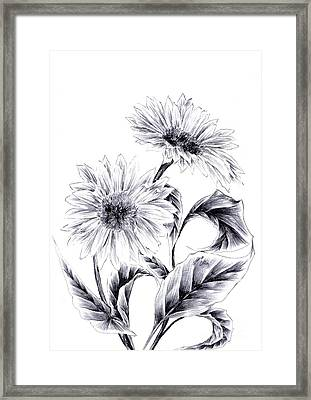 Be My Sun Framed Print