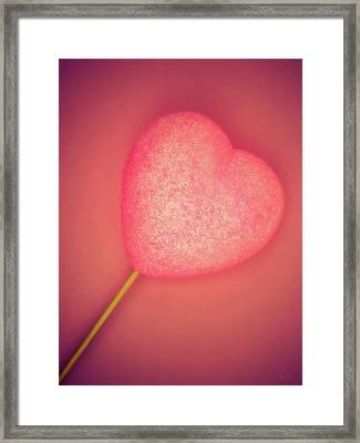 Be My Valentine Framed Print by Wim Lanclus