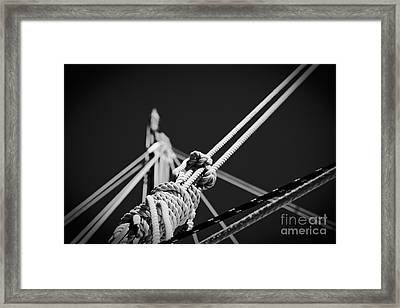 Be Neither Lost Nor Found Framed Print by Sharon Mau
