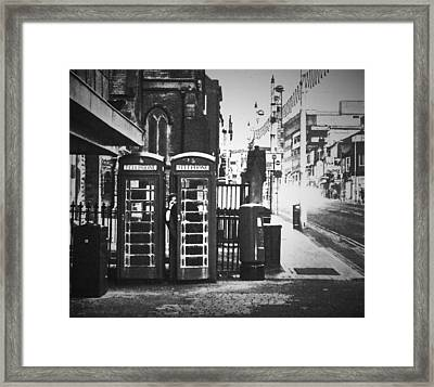 Be Seeing You Framed Print