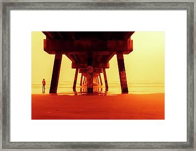 Be Still Framed Print