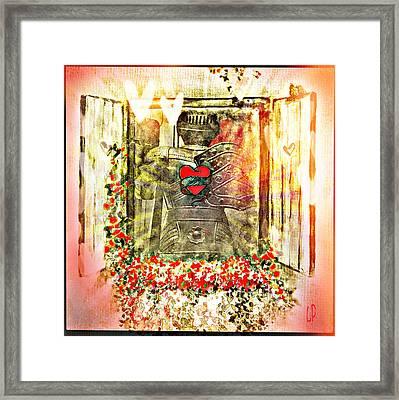Be Still My Heart Framed Print by Christine Paris