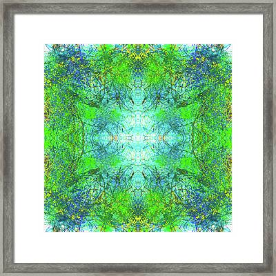 Be The Change For A Better World #1193 Framed Print by Rainbow Artist Orlando L aka Kevin Orlando Lau