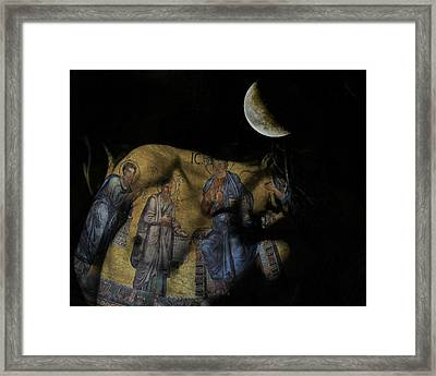 Be The Light In Our Darkness  Framed Print by Paul Lovering